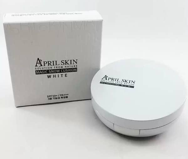 Phấn nước ma thuật April Skin white