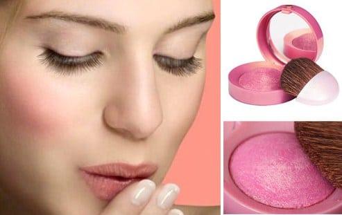 cách đánh phấn má hồng