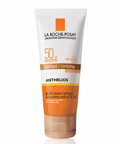 1. Anthelios spf 50 smoothing optical blur unifying rosy shade