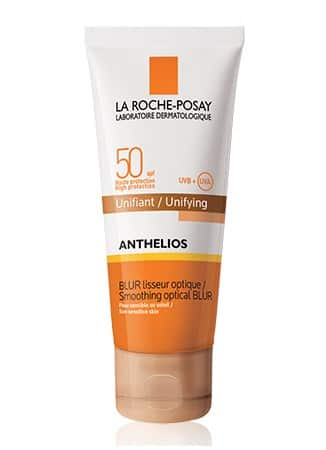 Anthelios spf 50 smoothing optical blur unifying rosy shade