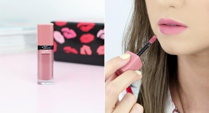 Son Velvet Màu số 10 hồng pastel nude