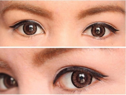 Mắt tròn và cách đánh phấn mắt