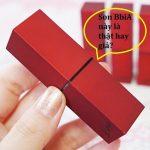 Phân biệt son BbiA phiên bản vỏ đỏ là hàng thật hay hàng giả