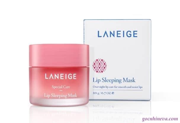 Thiết kế hũ mặt nạ ngủ môi Laneige Lip Sleeping Mask