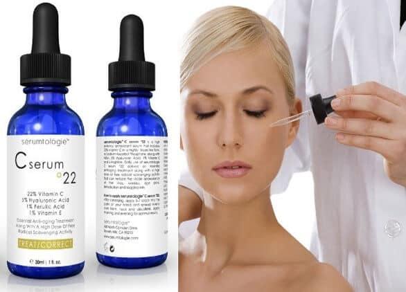 Serum Vitamin C Serumtologie 22% top 5 Serum Vitamin C tốt nhất hiện nay
