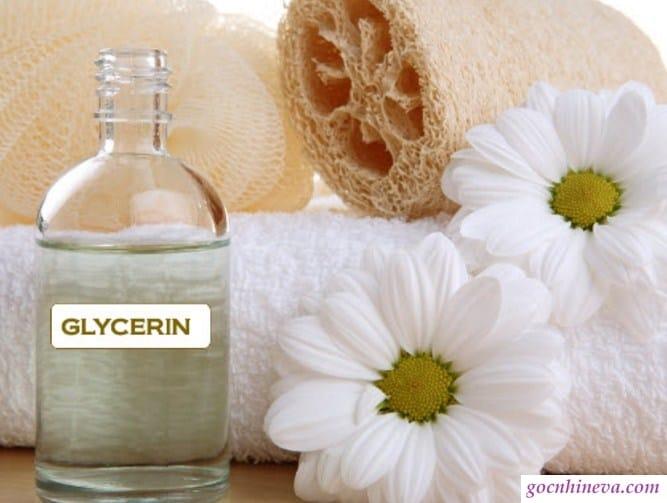 Glycerin là chất cấp ẩm tốt cho da
