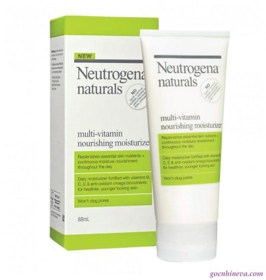 Neutrogena Naturals Multi  Vitamin Nourishing Moisturizer dưỡng ẩm hiệu quả ngay từ lần sử dụng đầu tiên
