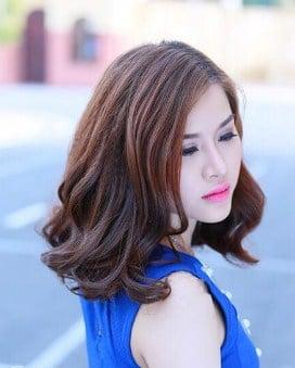 Kiểu tóc phù hợp với mặt to