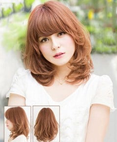 Kiểu tóc phù hợp với mặt tròn