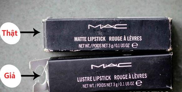 Hãy cẩn trọng với son Mac giá rẻ