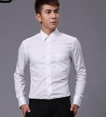 bí quyết chọn áo sơ mi trắng cho nam giới