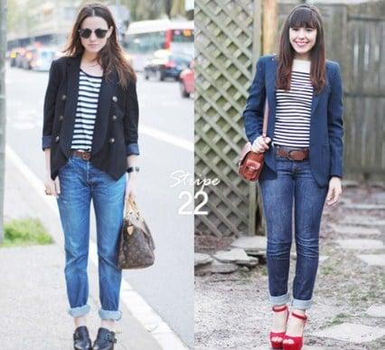 diện quần jean với vest nữ