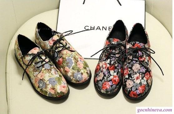 giày nữ hoa