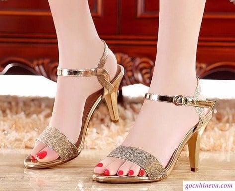 giày nữ kim tuyến