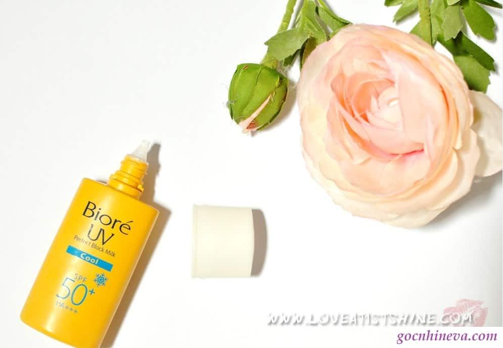 Biore UV Perfect Block Milk Cool SPF 50+ PA+++