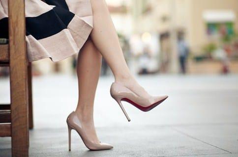 lựa chọn giày cao got đơn giản