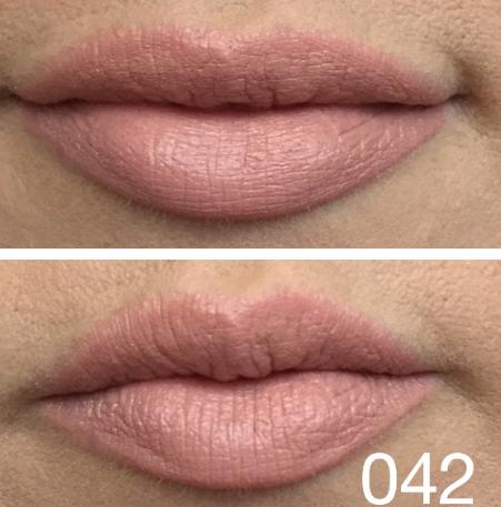 2.Màu 42:nude hồng nâu