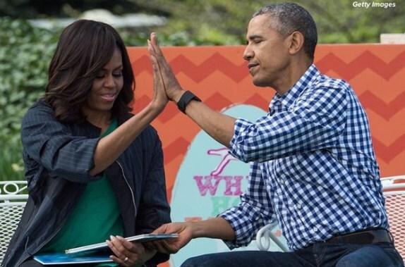 obama mặc sơ mi kẻ caro