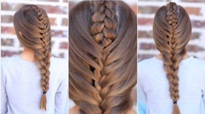 Học cách tết tóc xương cá cho mùa hè sắp đến 8