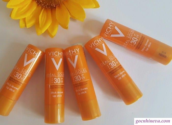 Vichy Ideal Soleil dưỡng ẩm tốt, chống nắng hiệu quả