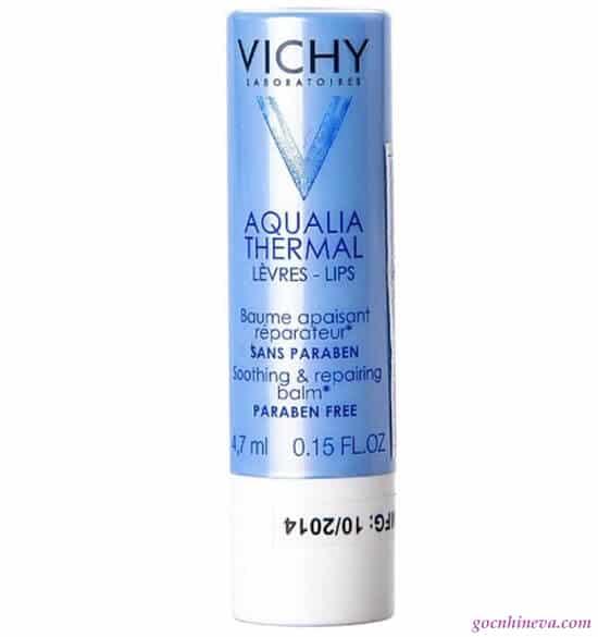 Son dưỡng Vichy Aqualia Thermal Lips Soothing & Repairing Balm dưỡng ẩm hiệu quả