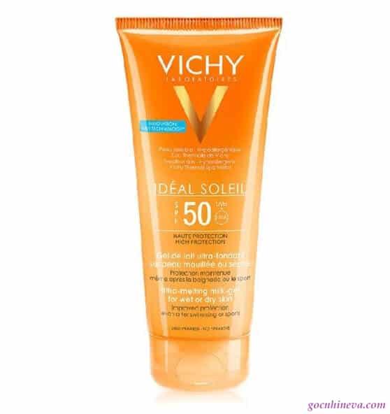 Vichy Ideal Soleil Milk Gel SPF 50 chống nắng hiệu quả