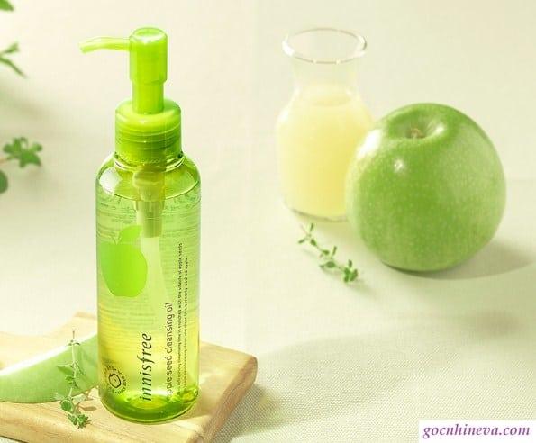 Innisfree Apple Juicy Cleaning Oil chiết xuất táo xanh hiệu quả tốt