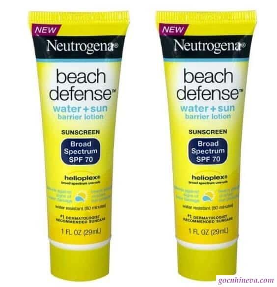 Neutrogena Beach Defense SPF 70 chống nắng hiệu quả
