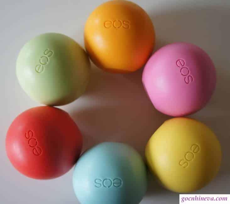 Son trứng EOS có nhiều vị cho bạn thoải mái lựa chọn