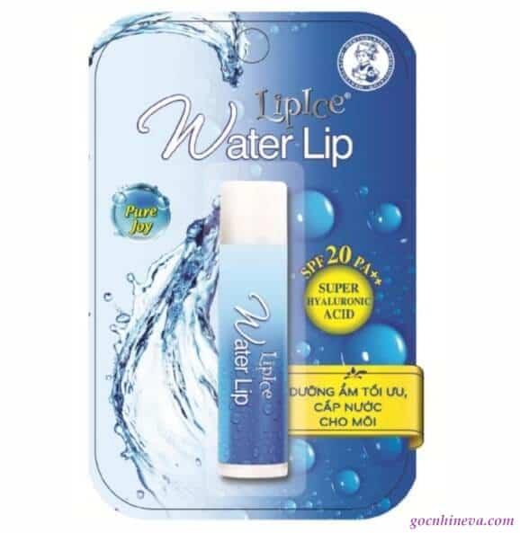 LipIce Water Lip cho đôi môi khô được mọng nước