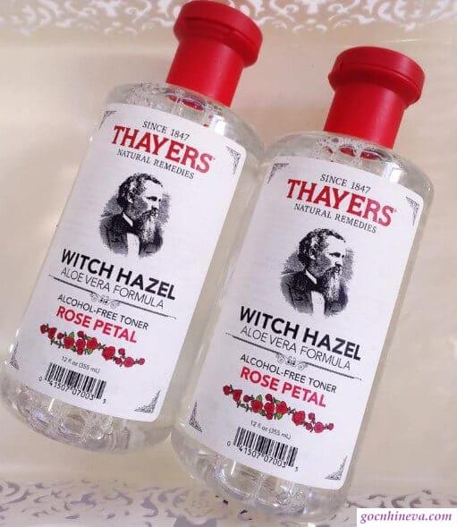 Thayer Rose Pental Witch Hazel an toàn, lành tính, hiệu quả