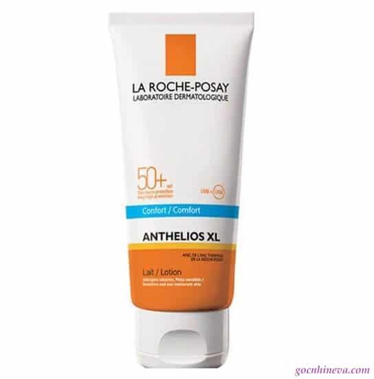 Anthelios xl spf 50+ comfort body lotion thích hợp cho da khô và da nhạy cảm
