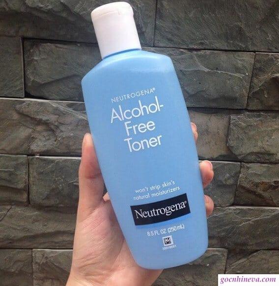 Neutrogena Acohol – Free Toner không cồn an toàn hiệu quả