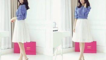 9 cách phối đồ chân váy nữ