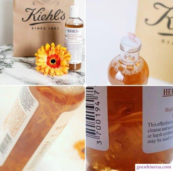 Kiehl's Calendula Herbal Extract chiết xuất từ các thảo mộc thiên nhiên quý, độc đáo