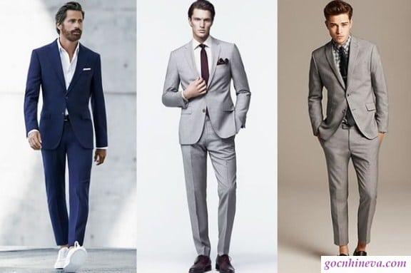 cách phối đồ cho đàn ông cao và gầy