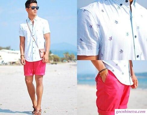 quần short nam ngắn