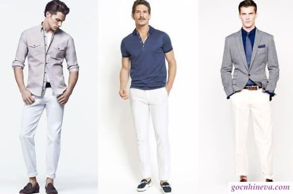 tránh trang phục màu đơn sắc