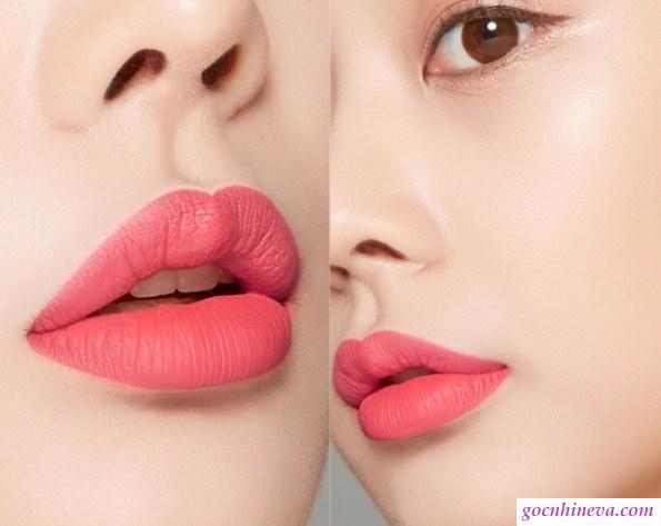 Son Kem Siêu Lì A'Pieu Color Lip Stain Matte Fluid lên màu đều, chuẩn màu, giữ màu tốt