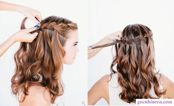 làm tóc khi đi ăn cưới