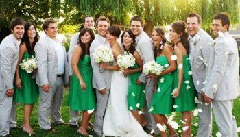 phối đồ dự đám cưới