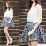 thời trang cho nữ gầy