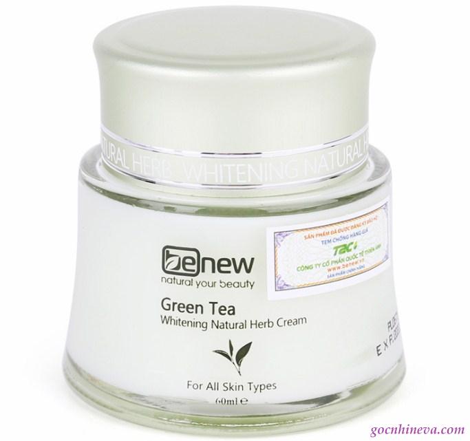 Kem dưỡng Benew Green Tea dưỡng ẩm hiệu quả cho làn da mụn