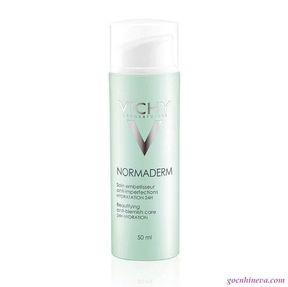 kem dưỡng ẩm Vichy Normaderm Tri-Activ đặc biệt thích hợp cho làn da mụn