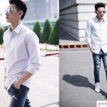 6 cách phối đồ với quần jean nam