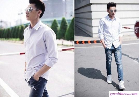 6 cách phối đồ nam với quần jeans cực chất hợp mọi thời đại