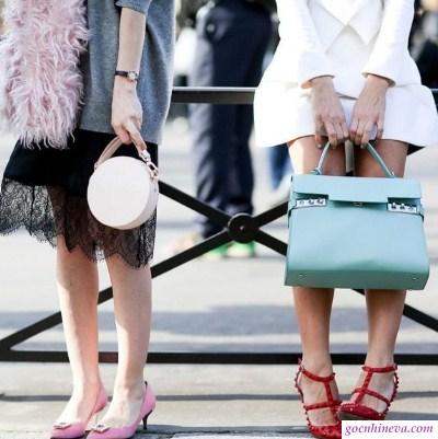 cách phối giày nữ