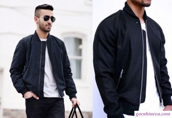 quần jean và áo bomber