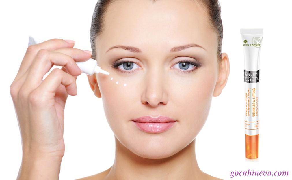Kem dưỡng mắt có phải là kem dưỡng da mặt không
