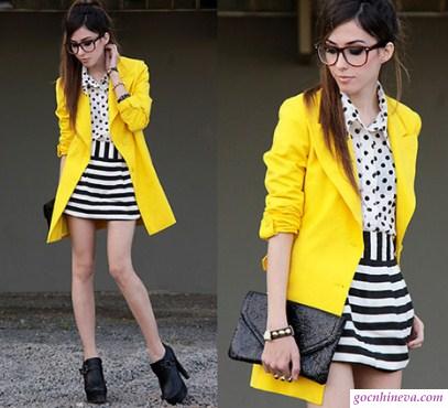 áo khoác rực rỡ